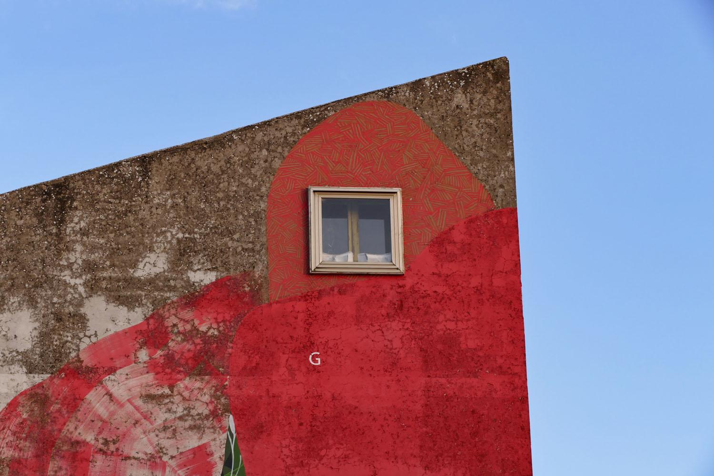 Street Art a Santa Croce di Magliano: G024 di Giulio Vesprini